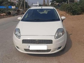 2011 Fiat Punto MT for sale in Hyderabad
