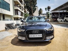 Used 2014 Audi A6 AT for sale in Bangalore