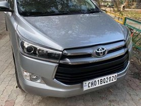 2017 Toyota Innova Crysta MT for sale in Chandigarh