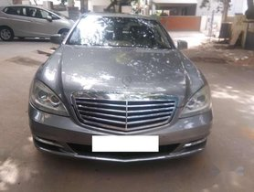 Used 2010 Mercedes Benz S Class S 350 CDI AT car at low price in Chennai