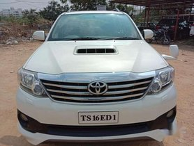 2013 Toyota Fortuner AT for sale at low price in Hyderabad