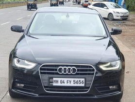 2013 Audi A4 2.0 TDI 177 Bhp Premium Plus AT for sale at low price in Mumbai