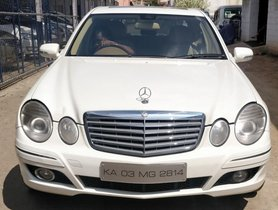 Used 2006 Mercedes Benz E-Class 1993-2009 280 CDI AT for sale in Bangalore