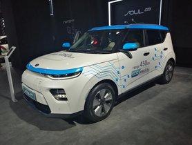 Kia e-Soul EV showcased at Auto Expo 2020