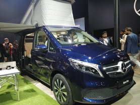 Mercedes V-Class Marco Polo Launched In India, Prices Start At Rs 1.38 Cr