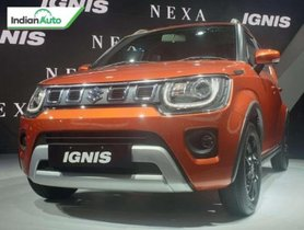 Maruti Ignis Facelift Unveiled at Auto Expo 2020, Bookings Open