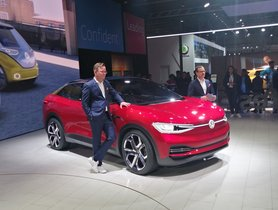 Volkswagen I.D. Crozz Showcased At Auto Expo 2020