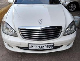 Used 2007 Mercedes Benz S Class AT for sale in Pune