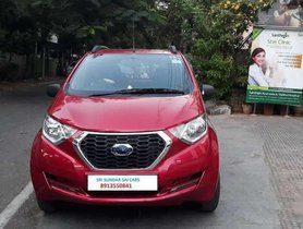 Used Datsun Redi-GO S 2017 MT for sale in Visakhapatnam