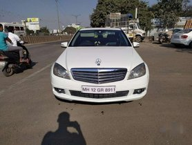 Used Mercedes Benz C-Class 220 2011 AT for sale in Pune