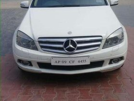 Used Mercedes Benz C-Class 2010 AT for sale in Secunderabad
