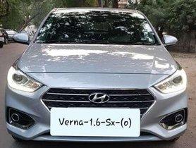 Used Hyundai Verna 1.6 VTVT SX 2019 MT for sale in Ahmedabad