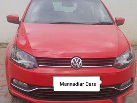 Used Volkswagen Polo Highline Petrol, 2015, Petrol MT for sale in Coimbatore