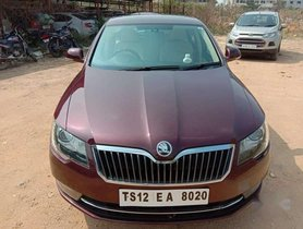 Used Skoda Superb 2014 1.8 TSI AT for sale in Hyderabad