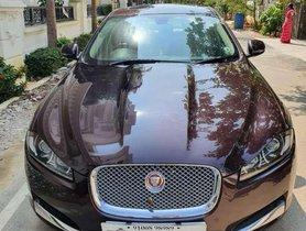 Used Jaguar XF Diesel 2013 AT for sale in Hyderabad