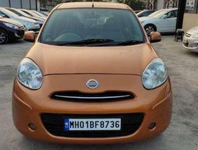 Used 2012 Nissan Micra XV MT for sale in Pune