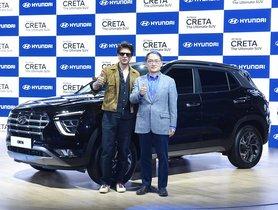 Shahrukh Khan Introduces the 2020 Hyundai Creta SUV to India