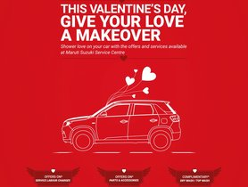 Maruti Announces Special Service Camps for Valentine's Day 2020