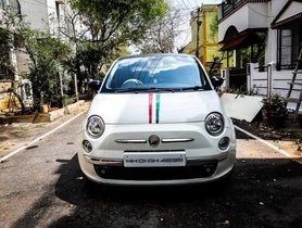 2008 Fiat 500 MT for sale at low price in Bangalore