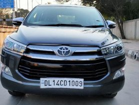 Used 2017 Toyota Innova Crysta 2.8 ZX AT car at low price in New Delhi