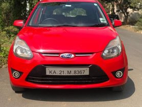 2010 Ford Figo Petrol ZXI MT for sale at low price in Bangalore