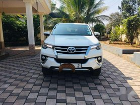 Used Toyota Fortuner 2017 MT for sale in Kannur