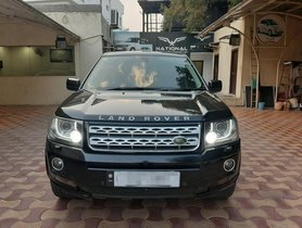Used 2014 Land Rover Freelander 2 TD4 SE AT car at low price in Hyderabad