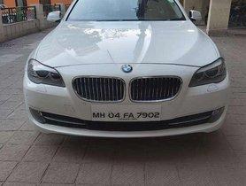 Used BMW 5 Series 520d Sedan 2012 AT for sale in Mumbai