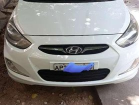 Used Hyundai Verna 2012 MT for sale in Tirupati