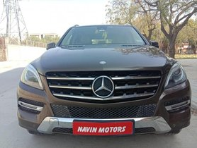 Used 2014 Mercedes Benz M Class ML 250 CDI AT car at low price in Ahmedabad