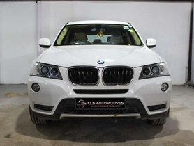 Used 2013 BMW X3 XDrive20d AT for sale in Hyderabad