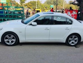 Used 2009 BMW 5 Series 520d Sedan AT for sale in Chandigarh