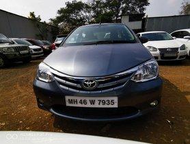 Used 2013 Toyota Etios VD MT car at low price in Nashik