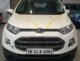 Used Ford Ecosport, 2014, Petrol MT for sale in Chennai