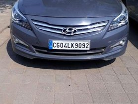 Used Hyundai Verna 2016 MT for sale in Raipur