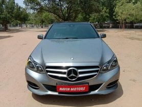 Used Mercedes Benz E-Class 2009-2013 E 220 CDI Avantgarde AT 2015 in Ahmedabad