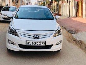 2016 Hyundai Verna AT for sale at low price in Jaipur