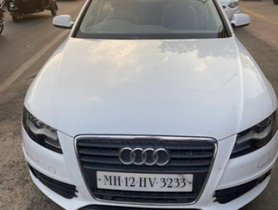 2012 Audi A4 2.0 TDI AT for sale at low price for sale in Pune