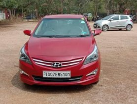 2015 Hyundai Verna 1.6 SX MT for sale at low price in Hyderabad