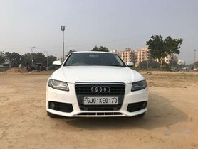 Used Audi A4 2.0 TFSI 2010 AT for sale in Ahmedabad