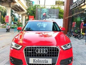 Used Audi Q3 2014 AT for sale in Kochi at low price