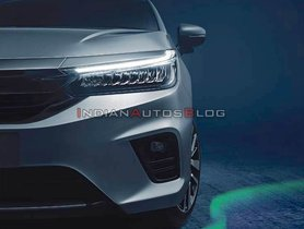 First Teaser Image of the New Generation Honda City Released