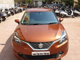 Used Maruti Suzuki Baleno Alpha Petrol, 2017, MT for sale in Goregaon