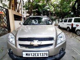 Used 2008 Chevrolet Captiva LT MT car at low price in Pune