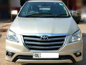 2014 Toyota Innova MT for sale at low price in New Delhi
