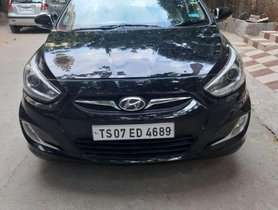Used Hyundai Verna Fluidic 1.6 CRDi SX Automatic, 2014, Diesel AT for sale in Hyderabad