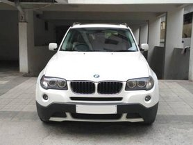 Used 2009 BMW X3 xDrive 20d xLine AT car at low price in Hyderabad