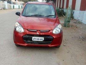 Used Maruti Suzuki Alto 800 Lxi, 2013, Petrol MT for sale in Hyderabad