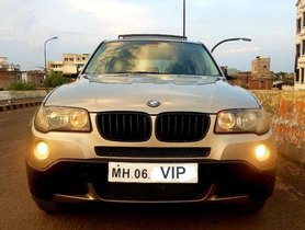 Used BMW X3, 2008, Petrol AT for sale in Nagpur