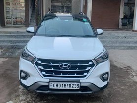2017 Hyundai Creta 1.6 CRDi AT SX Plus for sale in Chandigarh